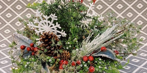 Winter Floral Centerpiece (Dec. 14 @ 10AM)